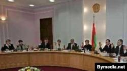 Пасяджэньне ЦВК у часе парлямэнцкіх выбараў 2008 году