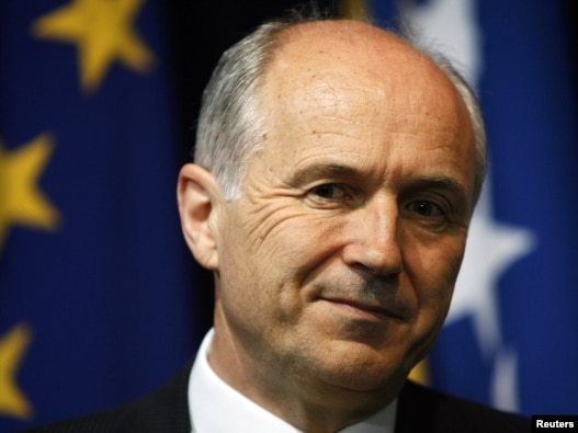 Valentin Inzko, visoki predstavnik Bosne i Hercegovine u EU, Sarajevo, 01. januar 2010.