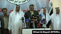 أعضاء في المجلس السياسي العربي يتحدثون في كركوك