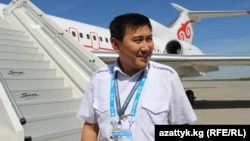 Turar Ismailov, Kyrgyz pilot. 2015