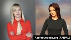 Журналістки Наталка Седлецька (л) та Крістіна Бердинських (п)
