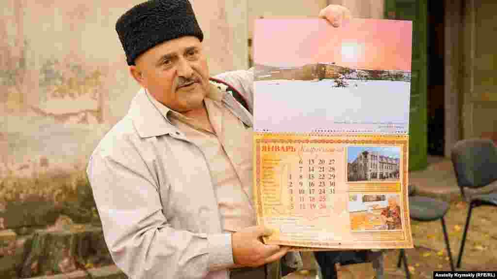 Bayramda Qırımdaki qaraylarnıñ tarihiy yerleri resimlerinen taqvimni taqdim ettiler