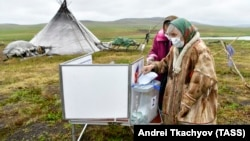 Гласуване на референдума в Ненецкия окръг