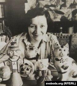 Алена Лось. 1983 г.