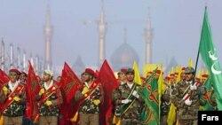 رهبر جمهوری اسلامی می گويد مخالفت با نظامی گری، تقکری انحرافی است.