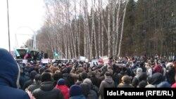 Антикоррупционный митинг в Уфе 26 марта.