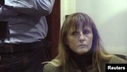 Мішель Мартен, фото з суду 2004 року