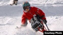 Alexander D'Jamoos skiing in Colorado