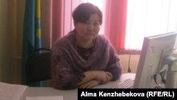 Директор колледжа «Кайнар» Мейрим Еркинбекова. Алматы, 4 декабря 2013 года.