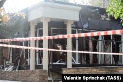 Кафе в центре Донецка – место убийства Александра Захарченко