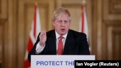 Премьер-министр Британии Борис Джонсон.