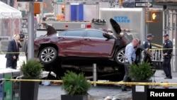 Policia duke zhvillur hetime pas sulmit me automobil kundër këmbësorëve në Times Square të Nju Jorkut më 18 maj të këtij viti