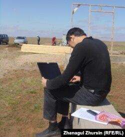 Асланбек Меркашев, член малой мусульманской общины в Актюбинской области.