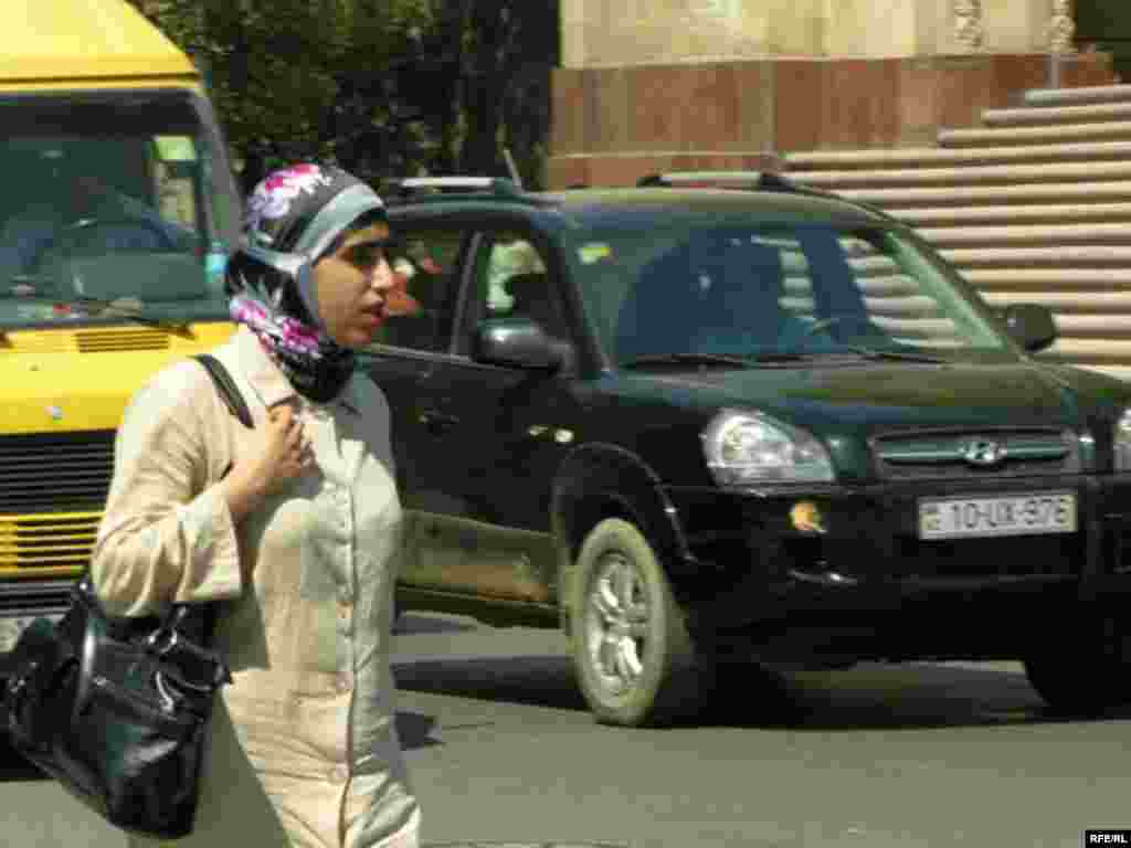Azerbaijan -- scarf girl (AZSL)