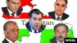 Олимджон Бобоев - один из кандидатов в президенты Таджикистана в 2006 году