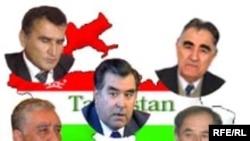 """Пятеро кандидатов в президенты Таджикистана только на плакате выглядят соперниками. На самом деле они """"все за одного"""""""