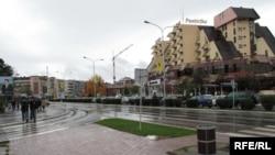 Pamje e qendrës së Gjakovës