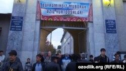 """Toshkentdagi """"Imom Buxoriy"""" masjidi."""