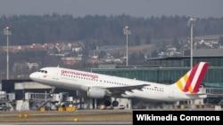 Germanwings әуе компаниясының Airbus A-320-200 жолаушылар ұшағы. (Көрнекі сурет)