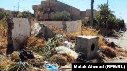 رصيف احد احياء بغداد
