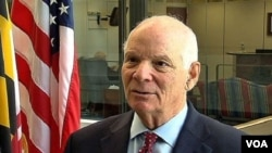 USA, Ben Cardin, U.S. Senator for Maryland, 16March2014