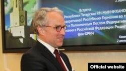 Посол Германии в России Рюдигер фон Фрич.