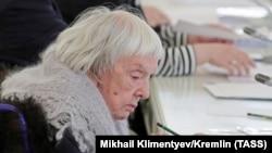 Russian human rights campaigner Lyudmila Alekseyeva
