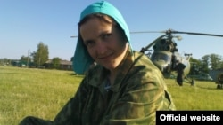 Украиналық ұшқыш Надежда Савченко.