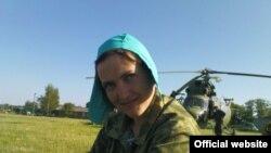 Украинская летчица Надежда Тимошенко, находящаяся под арестом в России.