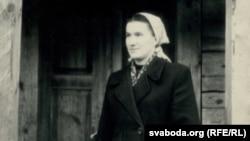 Ганна Пазьняк, 1958 г. Фота Зянона Пазьняка