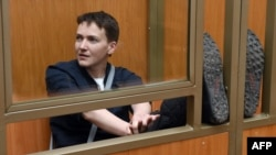 Ukrainian pilot Nadia Savchenko has been jailed for 22 years for involvement in the deaths of two Russian journalists in eastern Ukraine, a charge many believe was politically motivated.