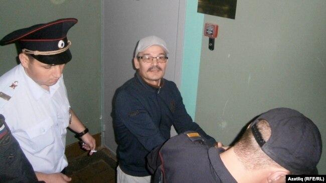 Рафис Кашапов в зале суда. Июль 2015 года