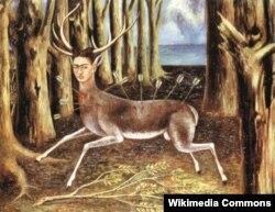Фрида Кало. «Жараланган марал». 1946-жыл.