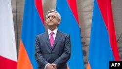 Presidenti armen, Serzh Sarkisian.