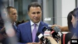 Nikolla Gruevski nga VMRO DPMNE