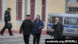 Суды за Дзень Волі ў Менску. Фотагалерэя
