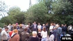 Зустріч мешканців села Горбів з представниками фірми-орендаря