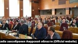 Заседание Заксобрания Амурской области