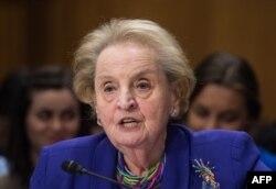 Бывший госсекретарь США Мадлен Олбрайт