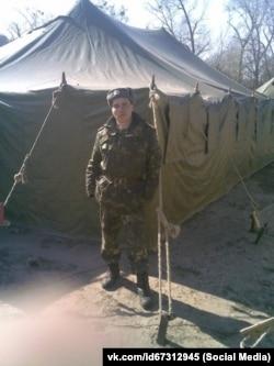 Редван Сулейманов під час служби в армії, 2011 рік
