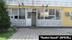 Здание военного суда Душанбинского гарнизона