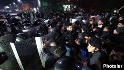 Բողոքի ակցիա Գյումրիում, 15-ը հունվարի, 2015