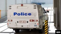 Policia australiane - foto arkivi