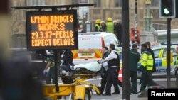 Теракт в Лондоне 22 марта