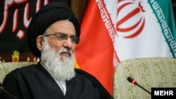 Former Iranian judiciary chief Mahmud Hashemi Shahroudi (file photo)