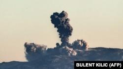 Почетокот на турската операција во Сирија.