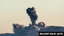 Бойові дії в районі Афрін, Сирія, 20 січня 2018 року