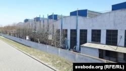 Цэхі заводу «Белкард» на вуліцы Перамогі ў Горадні