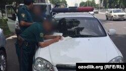 Милиция в Узбекистане. Иллюстративное фото.