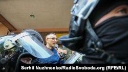 Сергій Стерненко біля Шевченківського районного суду Києва, 12 червня 2020 року